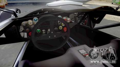 Ariel Atom V8 2010 [RIV] v1.1 Truran Air für GTA 4 Innenansicht