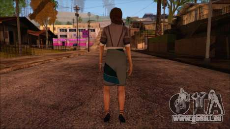 Modern Woman Skin 4 v2 pour GTA San Andreas deuxième écran