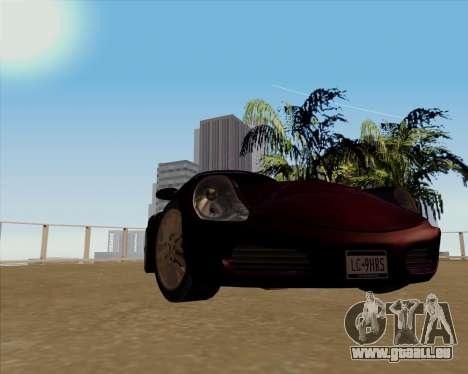 Stinger pour GTA San Andreas sur la vue arrière gauche