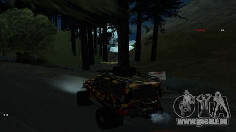 Трасса Offroad v1.1 durch Rappar313 für GTA San Andreas