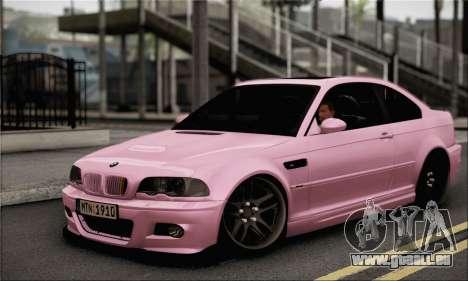 BMW M3 E46 StanceWork pour GTA San Andreas