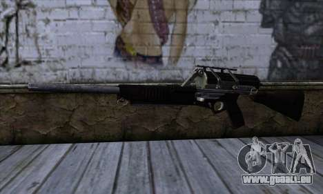 Calico M951S from Warface v2 pour GTA San Andreas