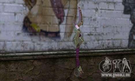 Klinge (World Of Warcraft) für GTA San Andreas zweiten Screenshot