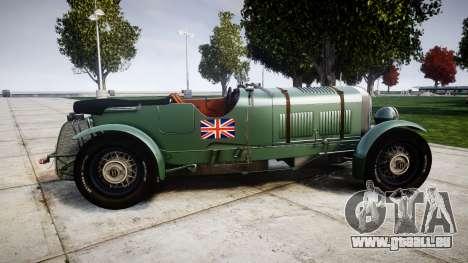 Bentley Blower 4.5 Litre Supercharged [low] pour GTA 4 est une gauche