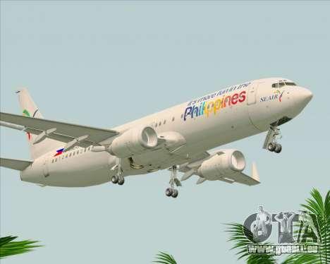 Boeing 737-800 South East Asian Airlines (SEAIR) pour GTA San Andreas vue de droite
