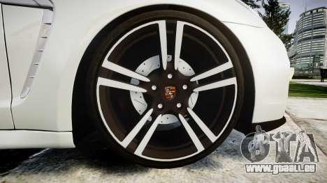 Porsche Panamera GTS 2014 pour GTA 4 Vue arrière