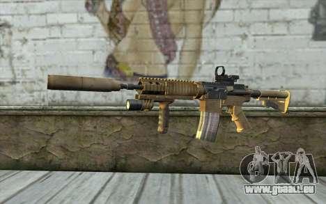 M4A1 Sopmod für GTA San Andreas
