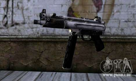 Tec9 from Call of Duty: Black Ops für GTA San Andreas