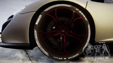 McLaren 650S Spider 2014 [EPM] v2.0 für GTA 4 Rückansicht