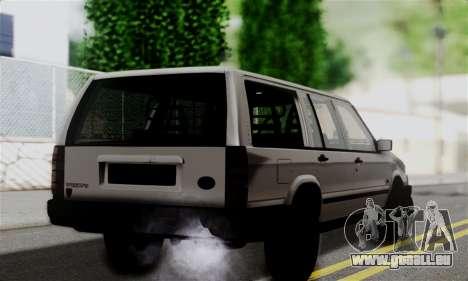 Volvo 940 pour GTA San Andreas laissé vue