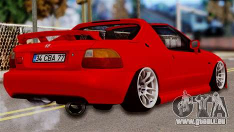 Honda CRX für GTA San Andreas linke Ansicht