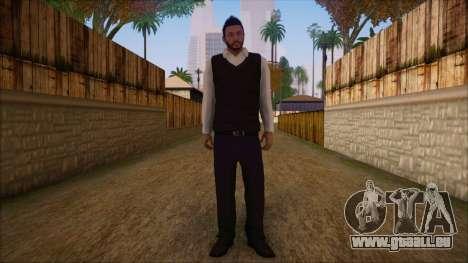 GTA 5 Online Skin 9 pour GTA San Andreas