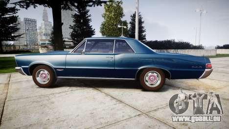 Pontiac GTO 1965 pour GTA 4 est une gauche