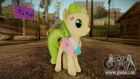 Peachbottom from My Little Pony für GTA San Andreas
