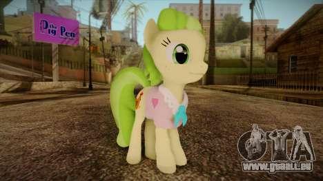 Peachbottom from My Little Pony pour GTA San Andreas