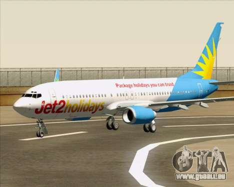 Boeing 737-800 Jet2Holidays pour GTA San Andreas roue