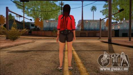 Modern Woman Skin 14 pour GTA San Andreas deuxième écran