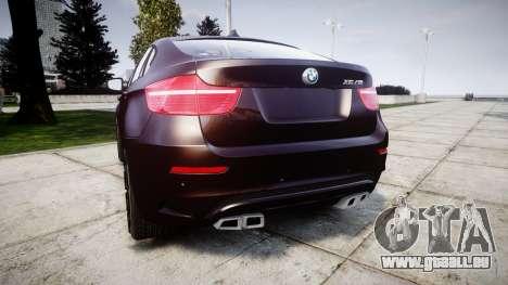 BMW X6M rims2 für GTA 4 hinten links Ansicht