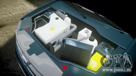 Dacia Duster 2013 pour GTA 4 est une vue de l'intérieur
