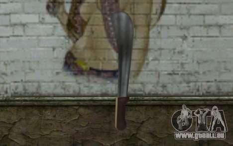 Machete (GTA Vice City) für GTA San Andreas zweiten Screenshot