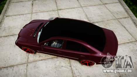 Mercedes-Benz W211 E55 AMG pour GTA 4 est un droit
