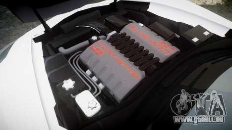 Chevrolet Corvette Z06 2015 TirePi2 pour GTA 4 est un côté