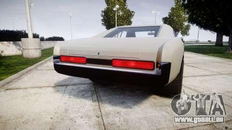 Imponte Dukes Supercharger pour GTA 4 Vue arrière de la gauche