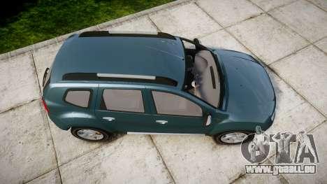 Dacia Duster 2013 pour GTA 4 est un droit