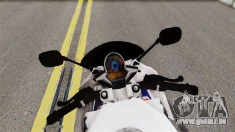 Honda CBR150FI pour GTA San Andreas sur la vue arrière gauche