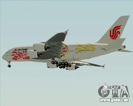 Airbus A380-800 Air China für GTA San Andreas Seitenansicht