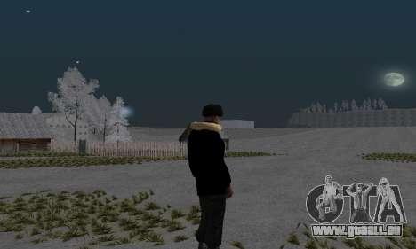 Veste d'hiver pour GTA San Andreas deuxième écran