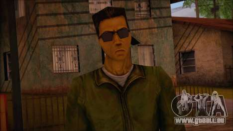 Leet from Counter Strike Condition Zero pour GTA San Andreas troisième écran