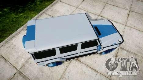 Mercedes-Benz G55 AMG Grand Edition Hamann pour GTA 4 est un droit