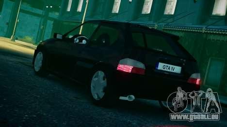 Citroen Saxo für GTA 4 linke Ansicht