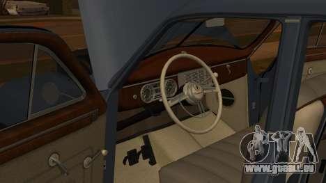 Packard Touring  Sedan pour GTA San Andreas vue arrière