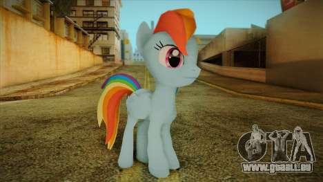 Rainbow Dash from My Little Pony für GTA San Andreas