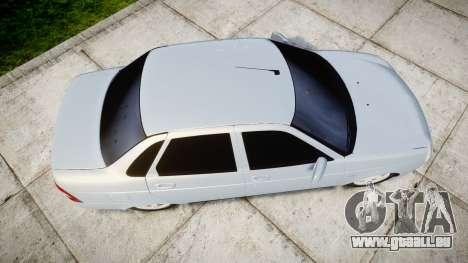 ВАЗ-Lada 2170 Priora Ampoule pour GTA 4 est un droit