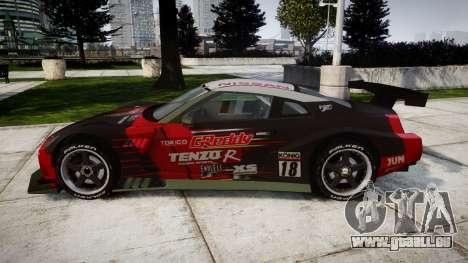 Nissan GT-R Super GT [RIV] pour GTA 4 est une gauche