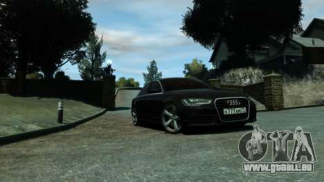 Audi A6 2012 für GTA 4 rechte Ansicht