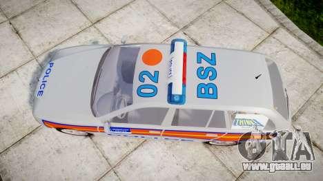 BMW 525i E39 Touring Police [ELS] JSTV pour GTA 4 est un droit