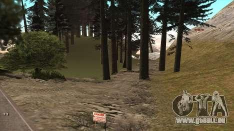 Трасса Offroad v1.1 par Rappar313 pour GTA San Andreas deuxième écran