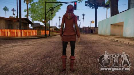Modern Woman Skin 17 pour GTA San Andreas deuxième écran