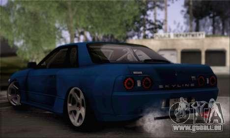 Nissan GT-R32 pour GTA San Andreas laissé vue