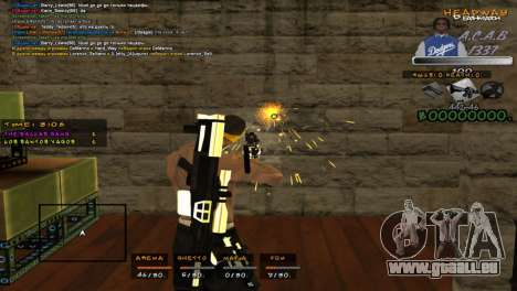 C- HUD A.C.A.B für GTA San Andreas dritten Screenshot