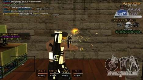 C- HUD A.C.A.B pour GTA San Andreas troisième écran