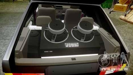 VAZ-2109 Neun für GTA 4 obere Ansicht