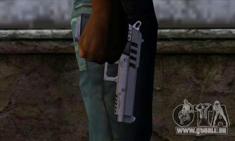 Pistol from GTA 5 pour GTA San Andreas troisième écran