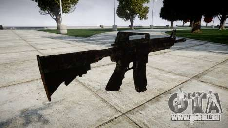 Le M4 carbine CQB pour GTA 4 secondes d'écran