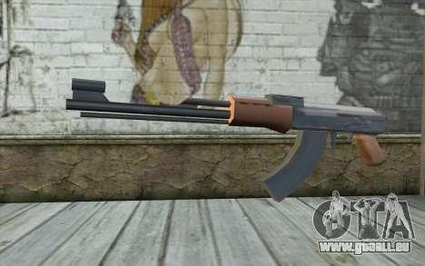 AK-47, Ohne den Hintern für GTA San Andreas