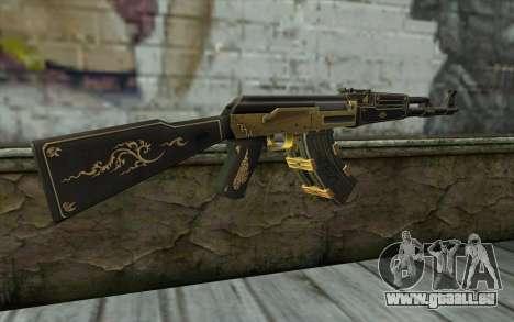 AK47 from PointBlank v1 pour GTA San Andreas deuxième écran